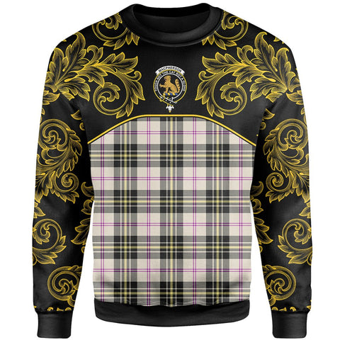 MacPherson Dress Ancient Tartan Clan Crest Sweatshirt - Empire I - HJT4 - Scottish Clans Store - Tartan Clans Clothing - Scottish Tartan Shopping - Clans Crest - Shopping In scottishclans - Sweatshirt For You