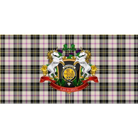 Image of MacPherson Dress Ancient Crest Tartan Tablecloth Unicorn Thistle A30