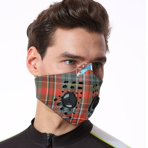 MacPherson Weathered Tartan Dust-proof Sports Masks ( Model 1) - TH88 (USA Shipping Line)