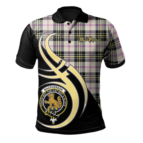 Image of MacPherson Dress Ancient Clan Believe In Me Polo Shirt
