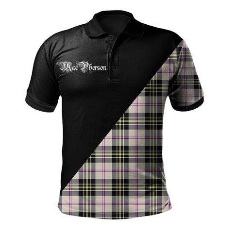 Image of MacPherson Dress Ancient Clan Military Logo Polo Shirt