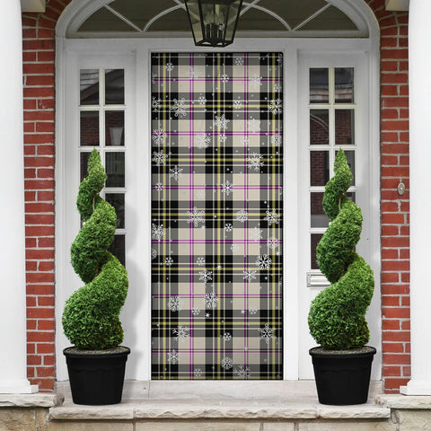 MacPherson Dress Ancient Christmas Tartan Door Sock Cover