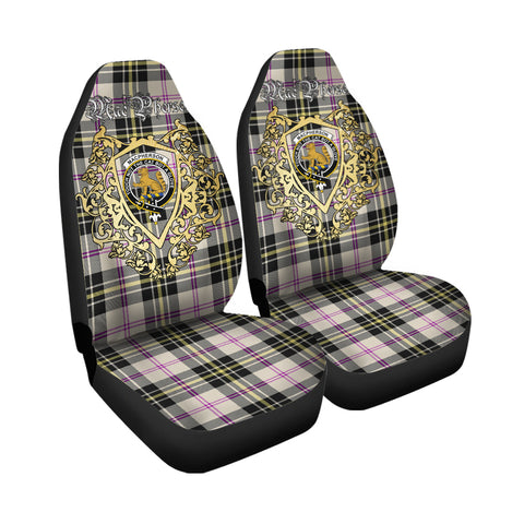 MacPherson Dress Ancient Clan Car Seat Cover Royal Sheild
