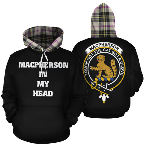 MacPherson Dress Ancient In My Head Hoodie Tartan Scotland K9