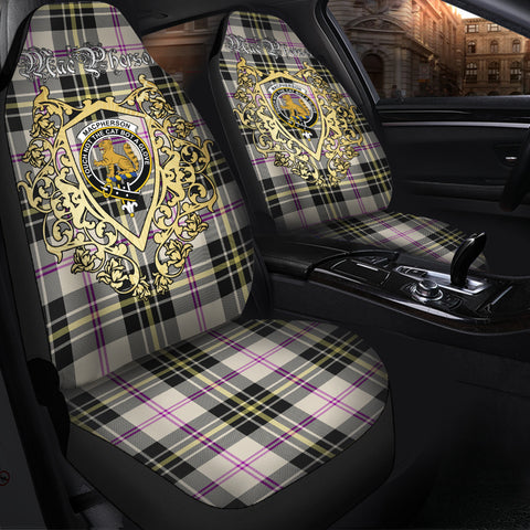 Image of MacPherson Dress Ancient Clan Car Seat Cover Royal Sheild