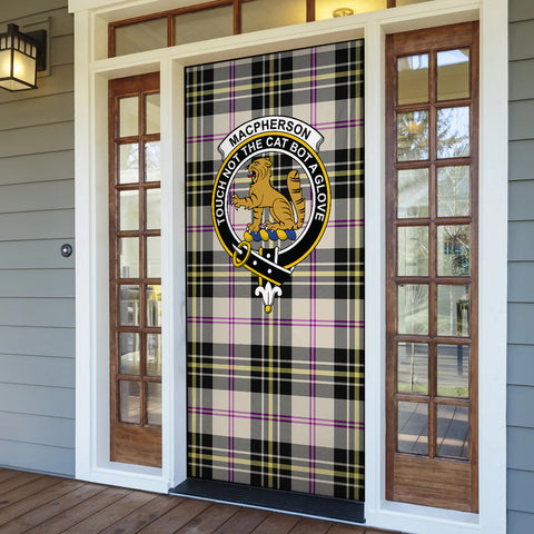 MacPherson Dress Ancient Tartan Door Sock Cover
