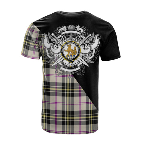 Image of MacPherson Dress Ancient Clan Military Logo T-Shirt K23