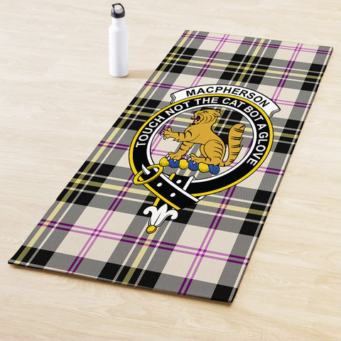 MacPherson Dress Ancient Clan Crest Tartan Yoga mats