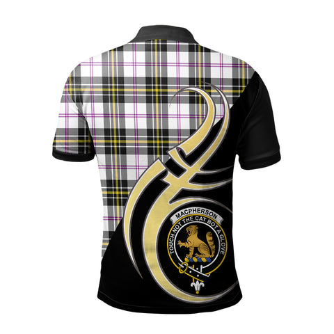 Image of MacPherson Dress Modern Clan Believe In Me Polo Shirt