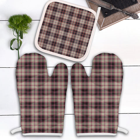 MacPherson Hunting Ancient Clan Tartan Scotland Oven Mitt And Pot-Holder (Set Of Two)