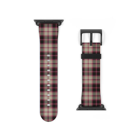 Image of MacPherson Hunting Ancient Scottish Clan Tartan Watch Band Apple Watch