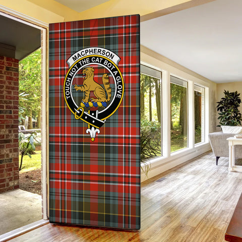 Image of MacPherson Weathered Tartan Door Sock Cover