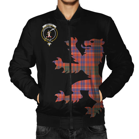 MacRae Tartan Lion & Thistle Men Jacket