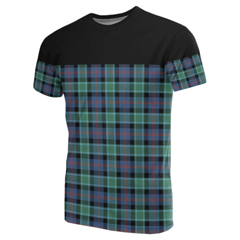 Tartan Horizontal T-Shirt - Mactaggart Ancient