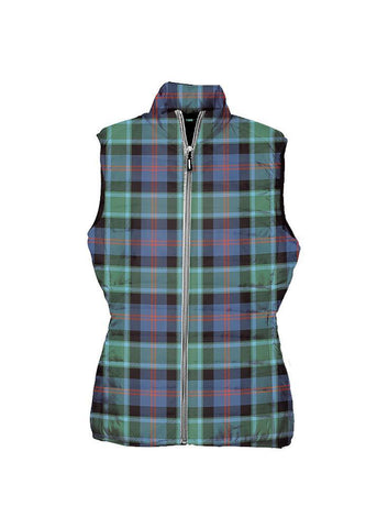 MacTaggart Ancient Tartan Puffer Vest for Men and Women K7