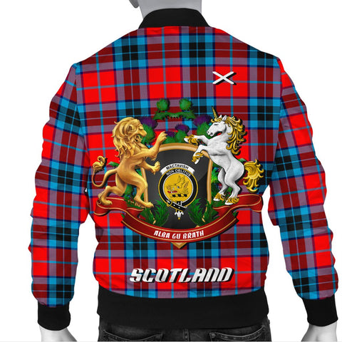 MacTavish Modern | Tartan Bomber Jacket | Scottish Jacket | Scotland Clothing
