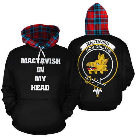 MacTavish Modern In My Head Hoodie Tartan Scotland K9