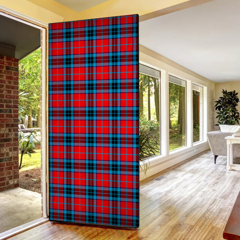 MacTavish Modern Tartan Door Sock Cover