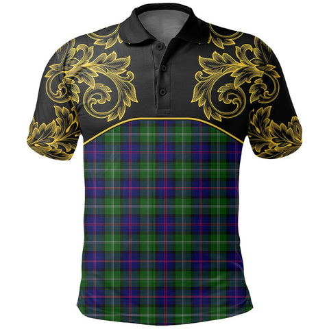 Image of MacThomas Modern Tartan Clan Crest Polo Shirt - Empire I - HJT4 - Scottish Clans Store - Tartan Clans Clothing - Scottish Tartan Shopping - Clans Crest - Shopping In scottishclans - Polo Shirt For You