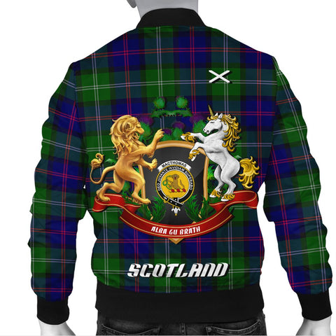 Image of MacThomas Modern | Tartan Bomber Jacket | Scottish Jacket | Scotland Clothing