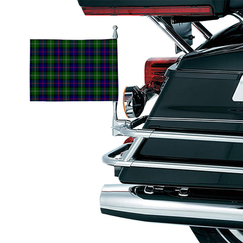 Image of MacThomas Modern Clan Tartan Motorcycle Flag