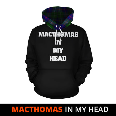 Image of MacThomas Modern In My Head Hoodie Tartan Scotland K9