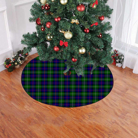 Image of MacThomas Modern Tartan Tree Skirt Christmas