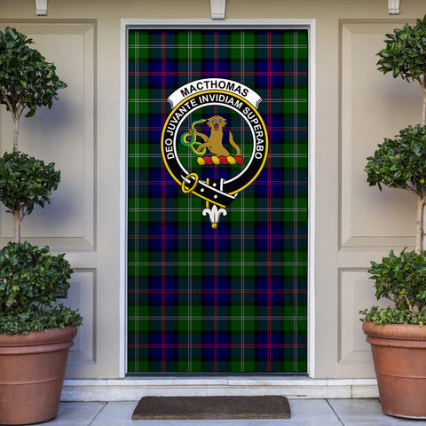 Image of MacThomas Modern Tartan Door Sock Cover