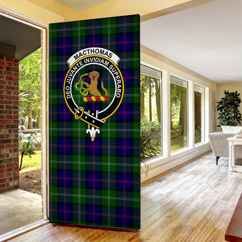MacThomas Modern Tartan Door Sock Cover