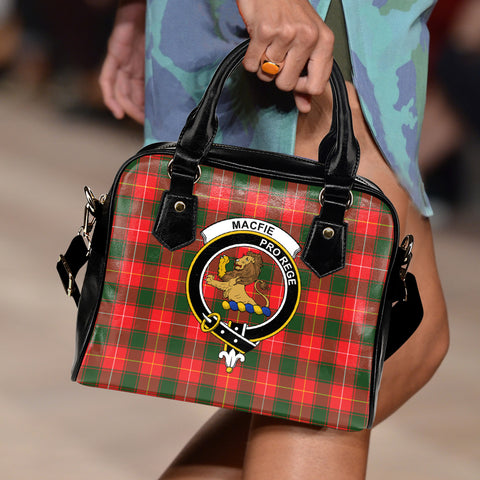 Image of Macfie Tartan Clan Shoulder Handbag | Special Custom Design