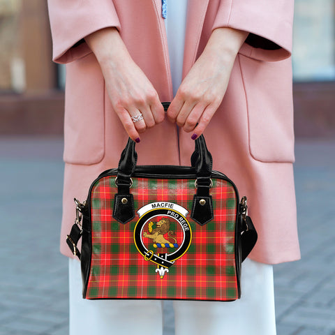 Macfie Tartan Clan Shoulder Handbag | Special Custom Design