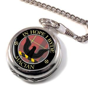 Macian Scottish Clan Tartan Pocket Watch | scottishclans.co
