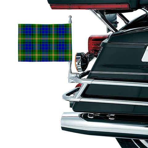 Maitland Clan Tartan Motorcycle Flag