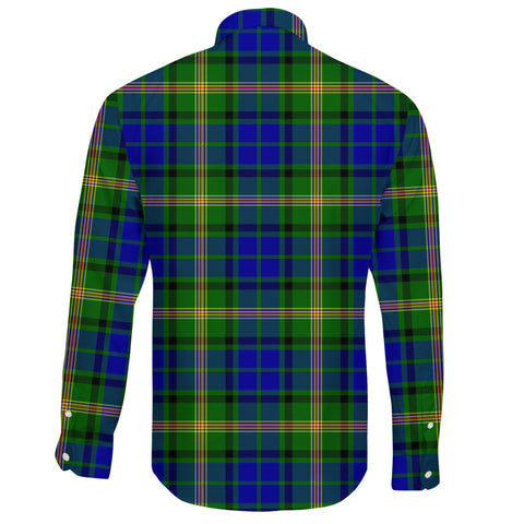 Maitland Tartan Clan Long Sleeve Button Shirt A91