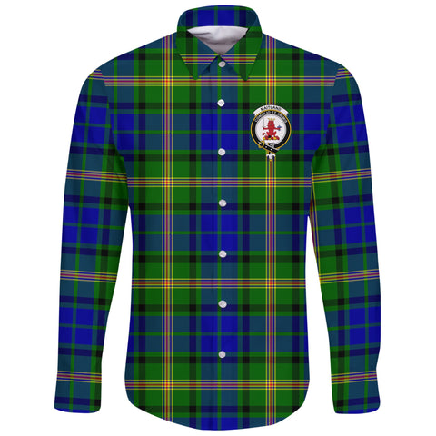 Maitland Tartan Clan Long Sleeve Button Shirt | Scottish Clan