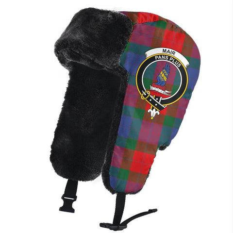 Mar Clan Crest Tartan Trapper Hat