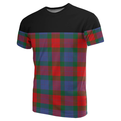 Image of Tartan Horizontal T-Shirt - Mar