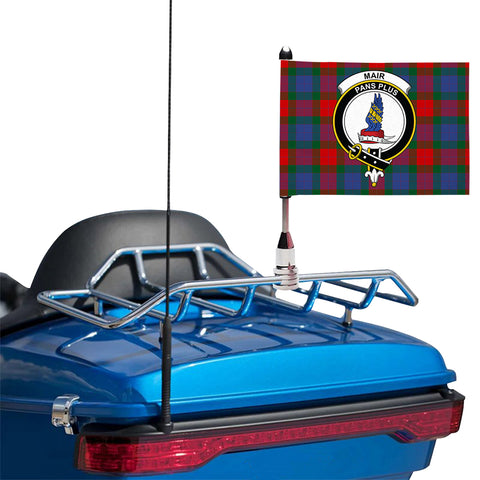 Mar Clan Crest Tartan Motorcycle Flag