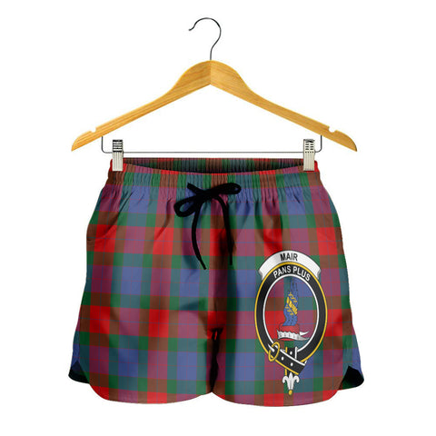 Mar Crest Tartan Shorts For Women K7