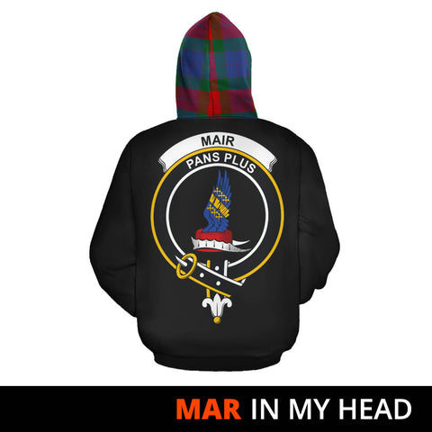 Mar In My Head Hoodie Tartan Scotland K9