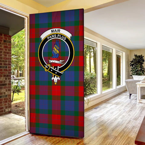 Mar Tartan Door Sock Cover