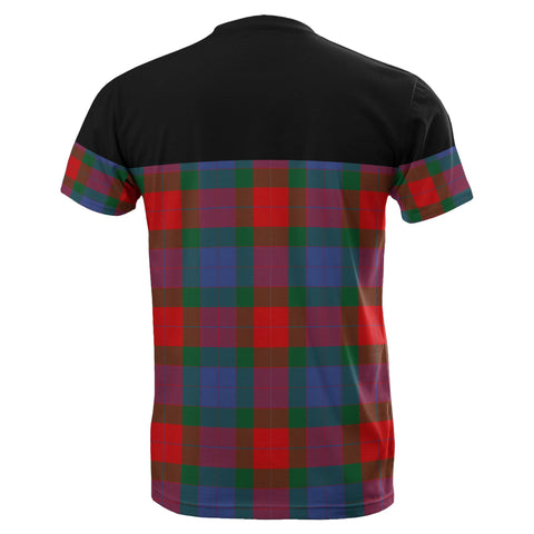 Image of Tartan Horizontal T-Shirt - Mar - BN