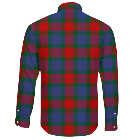 Mar Tartan Clan Long Sleeve Button Shirt A91