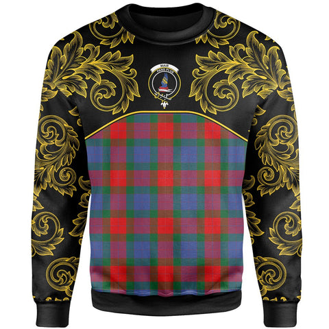 Mar Tartan Clan Crest Sweatshirt - Empire I - HJT4 - Scottish Clans Store - Tartan Clans Clothing - Scottish Tartan Shopping - Clans Crest - Shopping In scottishclans - Sweatshirt For You