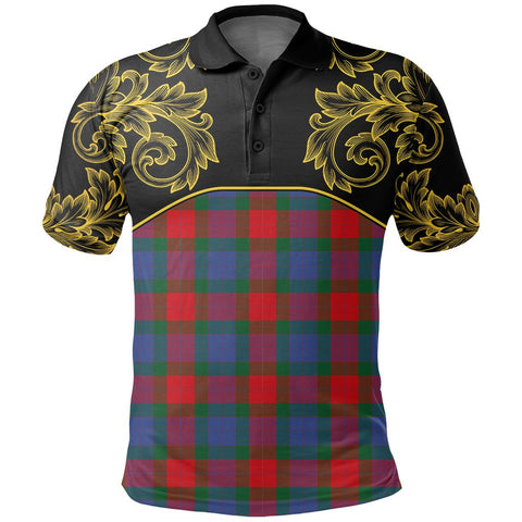 Mar Tartan Clan Crest Polo Shirt - Empire I - HJT4 - Scottish Clans Store - Tartan Clans Clothing - Scottish Tartan Shopping - Clans Crest - Shopping In scottishclans - Polo Shirt For You