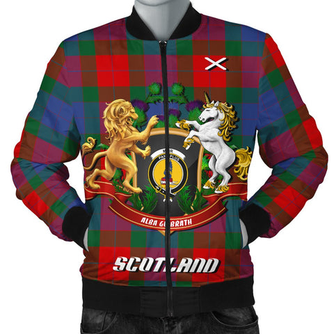 Mar | Tartan Bomber Jacket | Scottish Jacket | Scotland Clothing