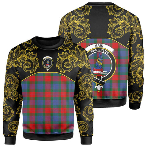 Mar Tartan Clan Crest Sweatshirt - Empire I - HJT4