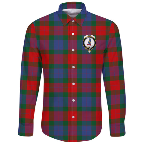 Mar Tartan Clan Long Sleeve Button Shirt | Scottish Clan