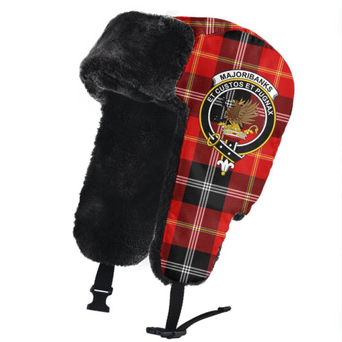 Marjoribanks Clan Crest Tartan Trapper Hat