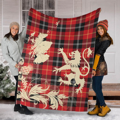 Image of Mar Tartan Premium Blanket